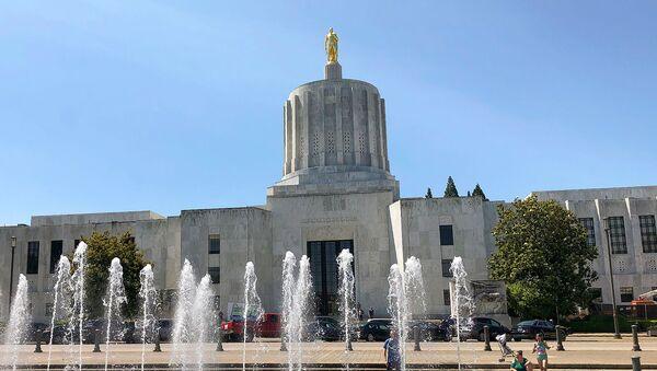 Капитолий штата Орегон в Салеме - Sputnik Армения