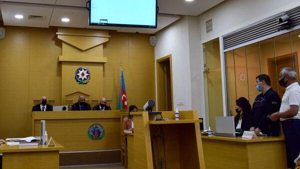Судебное заседание по делу Вигена Эулджекчяна (8 июня 2021). Баку - Sputnik Արմենիա