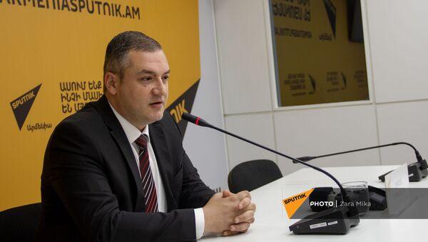 Пресс-конференция кандидата в премьер-министры от партии Мой дом – Армения Тиграна Уриханяна - Sputnik Արմենիա