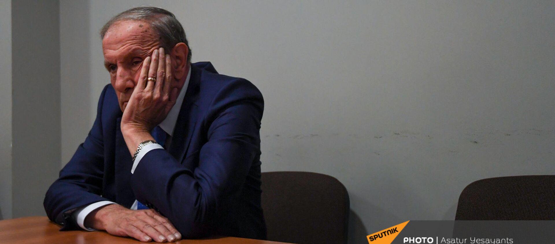 Пресс-конференция лидера Армянского национального Конгресса Левона Тер-Петросяна (10 июня 2021). Еревaн - Sputnik Արմենիա, 1920, 10.06.2021
