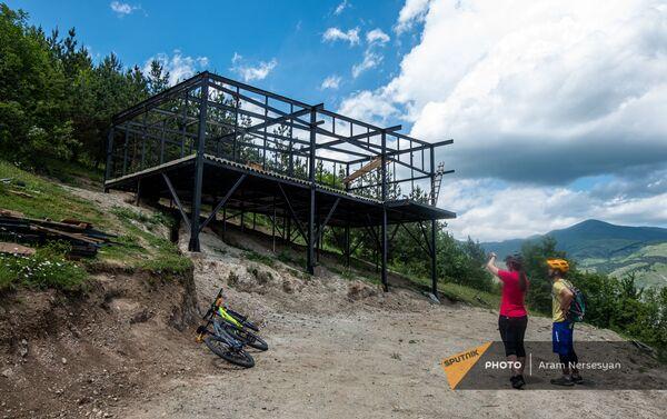Հեծանվային զբոսայգում սրճարան է կառուցվում - Sputnik Արմենիա