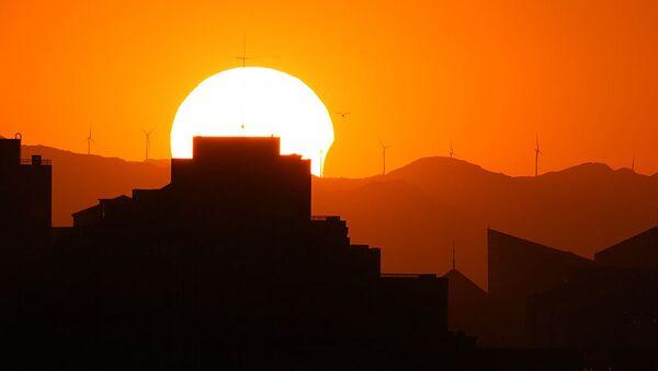 Частичное затмение солнца в Пекине - Sputnik Армения