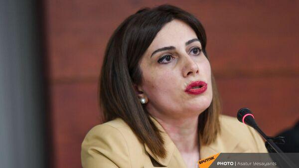 И.о. министра здравоохранения Анаит Аванесян (10 июня 2021). Еревaн - Sputnik Արմենիա