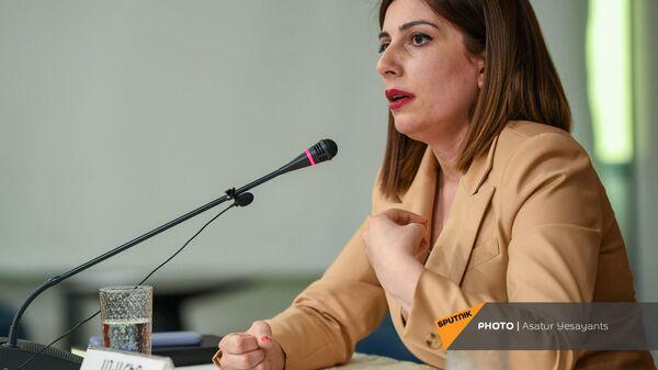 И.о. министра здравоохранения Анаит Аванесян (10 июня 2021). Еревaн - Sputnik Армения