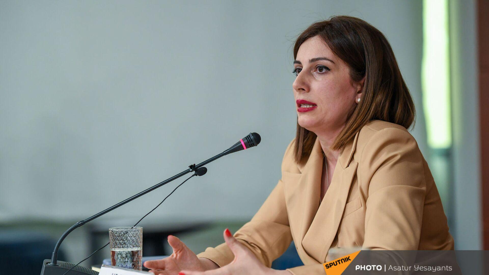 И.о. министра здравоохранения Анаит Аванесян (10 июня 2021). Еревaн - Sputnik Армения, 1920, 23.09.2021