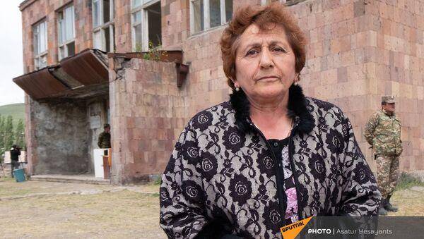 Административный руководитель села Кут Сима Читчян - Sputnik Армения