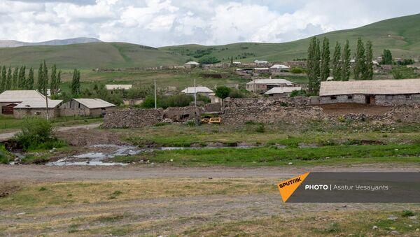 Панарама села Кут Гегаркуниксой области - Sputnik Армения