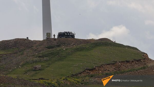 Азербайджанский пост у Сотка - Sputnik Արմենիա