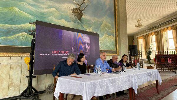 Предвыборная агиткампания Армянского национального Конгресса в Ширакской области (12 июня 2021). Гюмри - Sputnik Армения