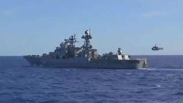 Масштабные учения в Тихом океане: силы ТОФ вытеснили подлодку условного противника - Sputnik Արմենիա