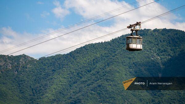 Кабина канатной дороги в Алаверди - Sputnik Армения