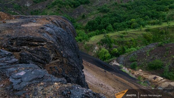 Отходы меднохимического комбината недалеко от Алаверди - Sputnik Армения