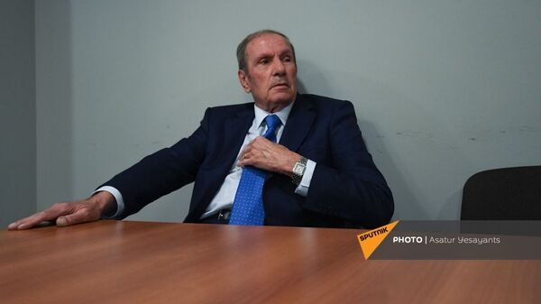 Пресс-конференция лидера Армянского национального Конгресса Левона Тер-Петросяна (10 июня 2021). Еревaн - Sputnik Արմենիա