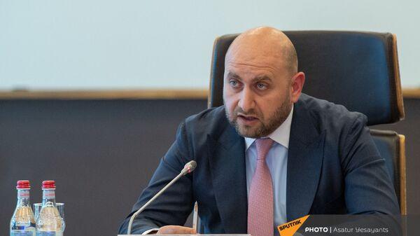 Председатель Центрального Банка Армении Мартин Галстян  - Sputnik Армения