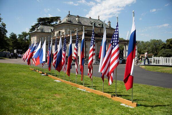 ԱՄՆ–ի և Ռուսաստանի դրոշները - Sputnik Արմենիա