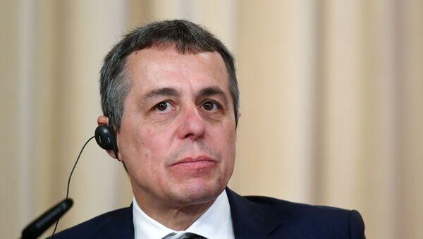 Министр иностранных дел Швейцарии Игнацио Кассис  - Sputnik Արմենիա