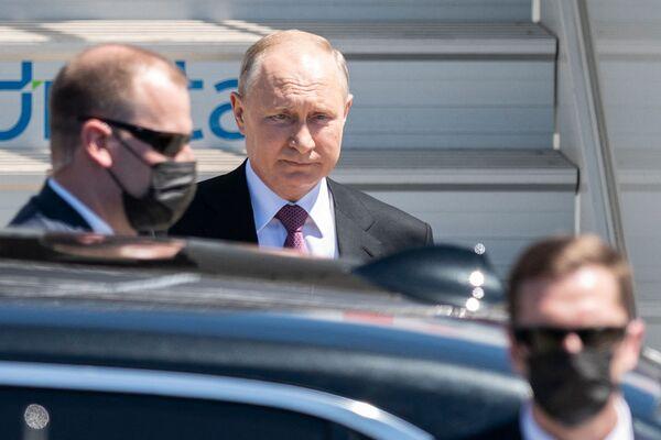 ՌԴ նախագահը հասավ Ժնև - Sputnik Արմենիա