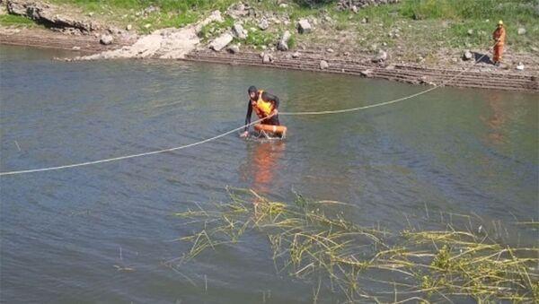 Тело утопленника в Апаранском водохранилище - Sputnik Արմենիա