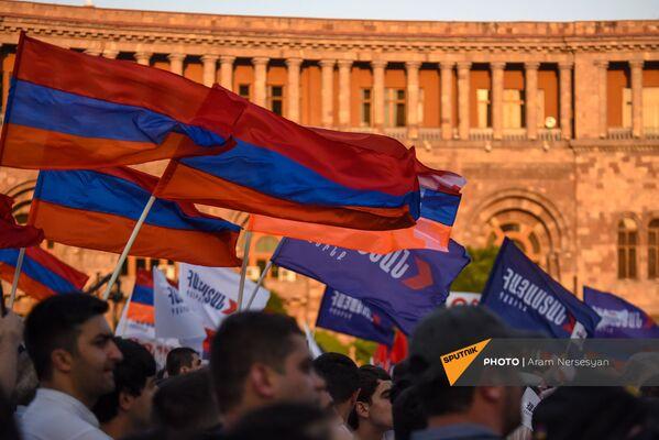 «Հայաստան» դաշինքի ամփոփիչ հանրահավաքը - Sputnik Արմենիա