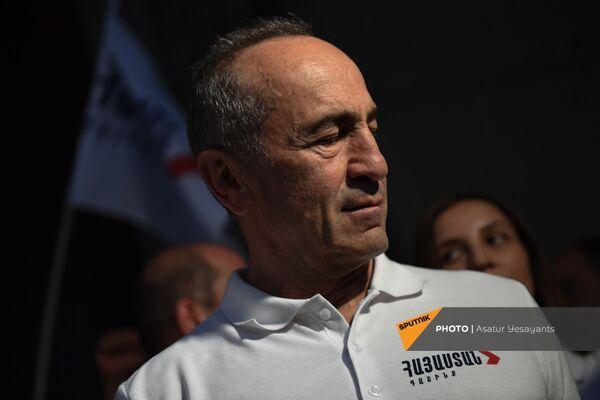 Ռոբերտ Քոչարյանը` ամփոփիչ հանրահավաքին - Sputnik Արմենիա