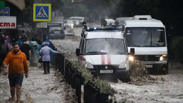 Крым затопило после ливней - Sputnik Армения
