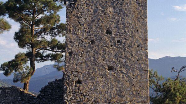 Развалины старинного замка на острове Тассос. - Sputnik Արմենիա