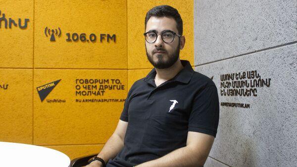 Аббас Джума в гостях радио Sputnik - Sputnik Армения