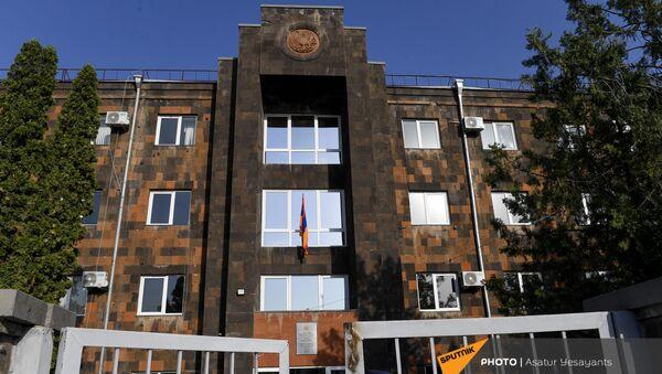 Здание суда первой инстанции в Аване - Sputnik Армения
