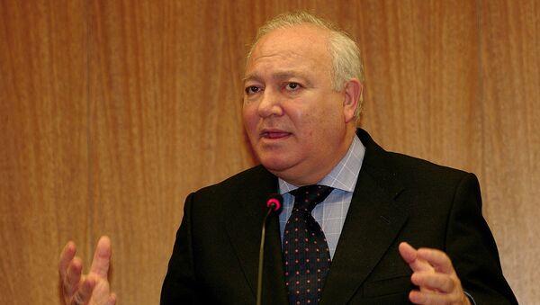 Верховный представитель Альянса цивилизаций ООН Мигель Анхель Моратинос - Sputnik Արմենիա