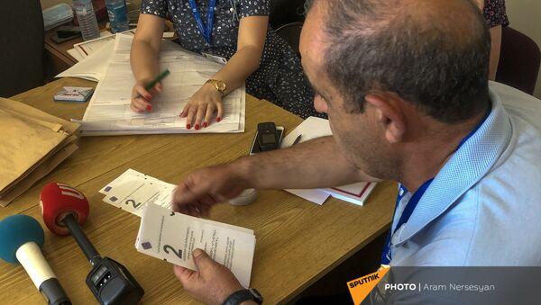 Повторный подсчет голосов (23 июня 2021). Еревaн - Sputnik Армения