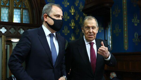 Сергей Лавров и Джейхун Байрамов - Sputnik Արմենիա
