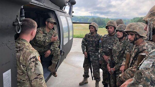 Армянские миротворцы на военной базе США в Германии - Sputnik Армения