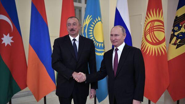 Рабочая поездка президента РФ В. Путина в Санкт-Петербург  - Sputnik Армения