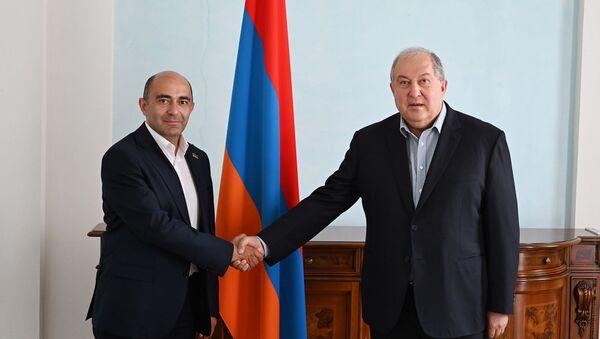 Эдмон Марукян и Армен Саркисян - Sputnik Армения