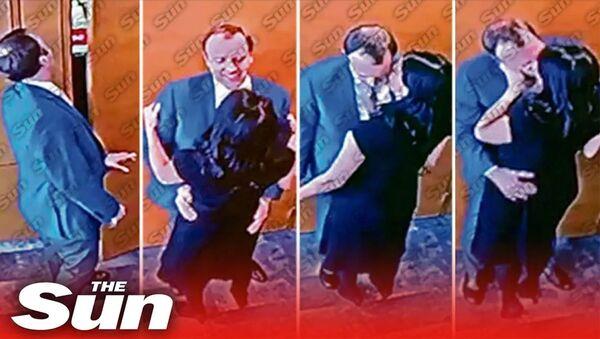 Видео поцелуя Мэтта Хэнкока - Sputnik Արմենիա