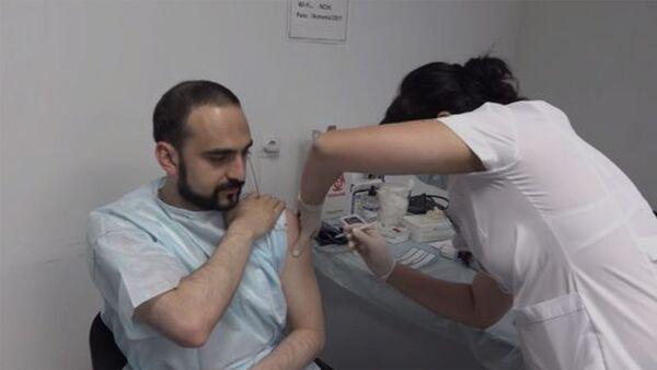 Covid-19 դեմ «AstraZeneca» պատվաստանյութի երկրորդ դեղաչափը - Sputnik Արմենիա