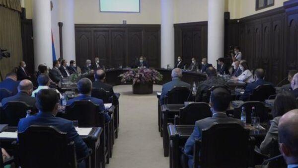 Կառավարության 2021 թվականի հունիսի 24-ի նիստ - Sputnik Արմենիա