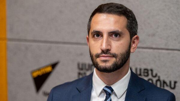 Председатель Комиссии по внешним связям НС Армении Рубен Рубинян в гостях радио Sputnik - Sputnik Արմենիա