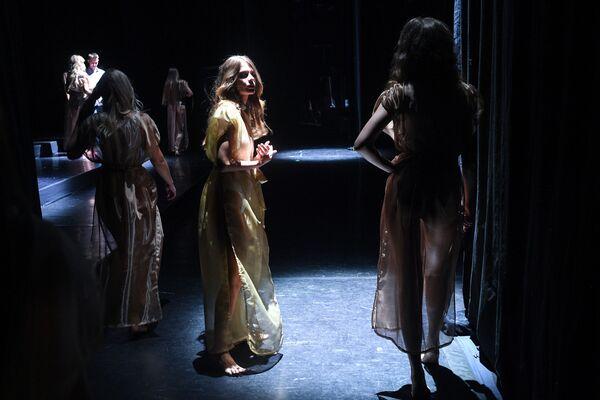 «Միսս Մոսկվա 2021» 25-րդ հոբելյանական մրցույթից առաջ, «Et Cetera» թատրոն - Sputnik Արմենիա