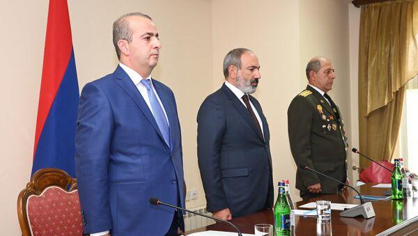 И.о. премьер-министра Никол Пашинян принял участие в торжественном заседании, посвященном Службе национальной безопасности (1 июля 2021). Еревaн - Sputnik Արմենիա