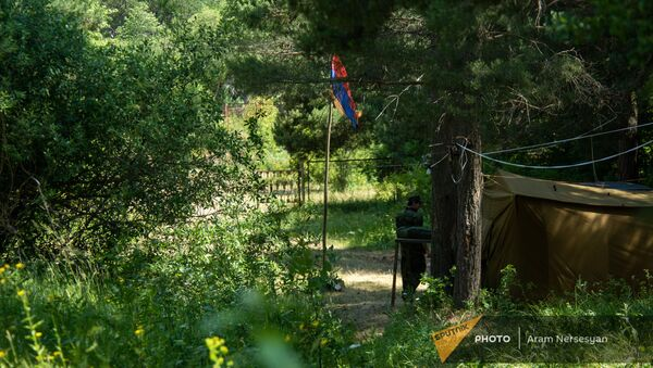 Военно-спортивный лагерь в Анкаване - Sputnik Արմենիա