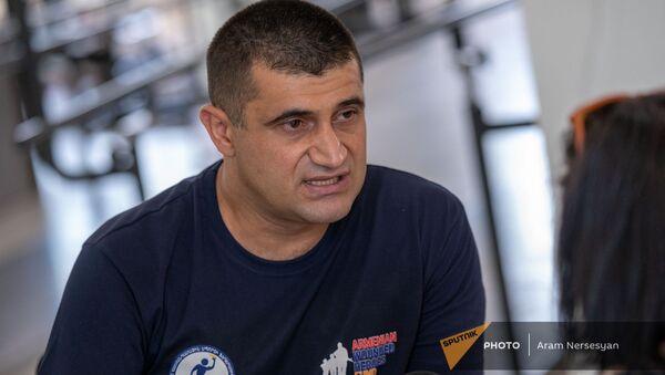 Основатель реабилитационного центра для военных инвалидов, подполковник Саргис Степанян - Sputnik Արմենիա