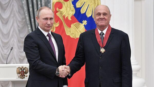 Церемония вручения государственных наград президентом РФ В. Путиным в Кремле - Sputnik Армения
