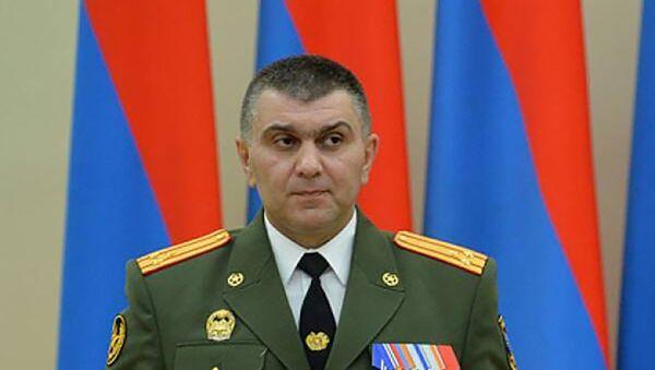 Командующий 3-м армейским корпусом генерал-майор Григорий Хачатуров - Sputnik Армения