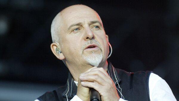 Британский певец Питер Гэбриэл на сцене  - Sputnik Армения