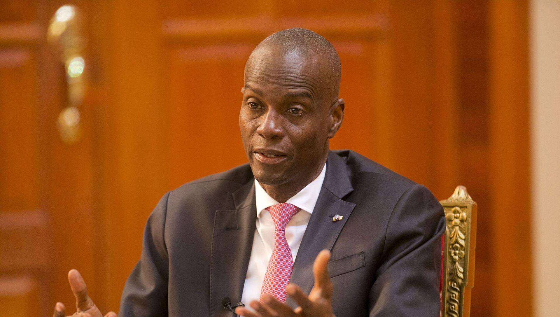 Президент Гаити Жовенель Моисса - Sputnik Արմենիա, 1920, 07.07.2021