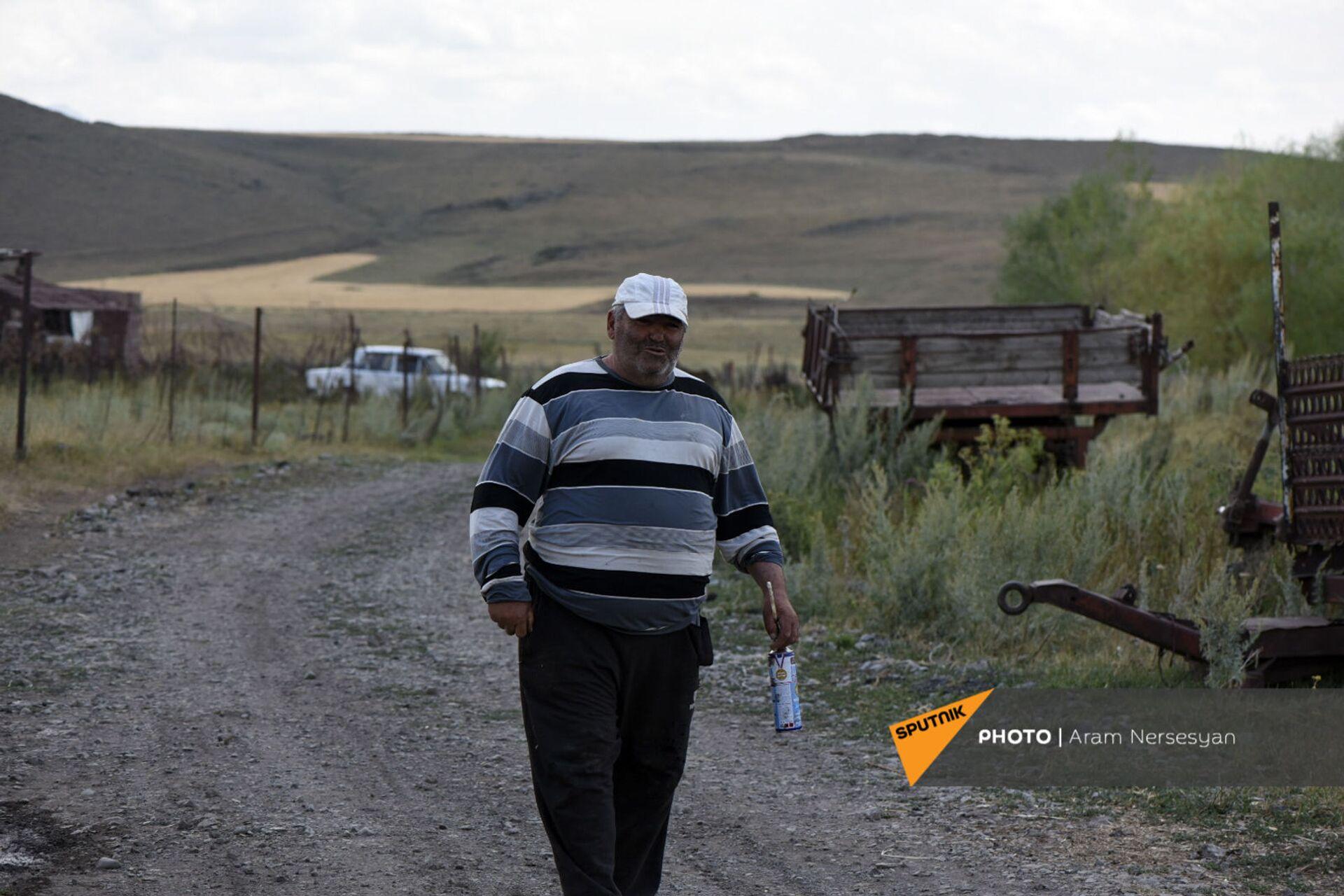 В Шираке высыхают поля с картофелем - откуда взять воду? - Sputnik Армения, 1920, 07.07.2021