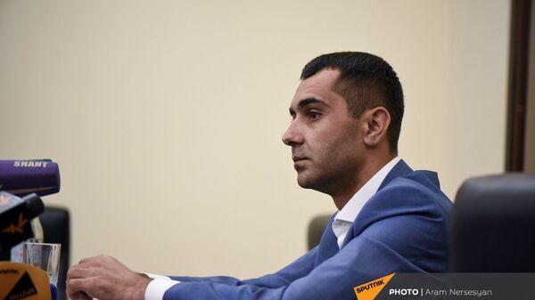 Председатель водного комитета Министерства территориального управления и инфраструктуры РА Карен Саркисян - Sputnik Армения