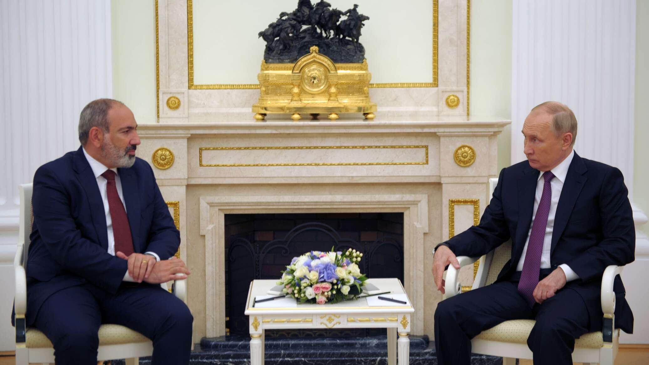 Путин рассчитывает, что его встреча с Пашиняном пройдет продуктивно