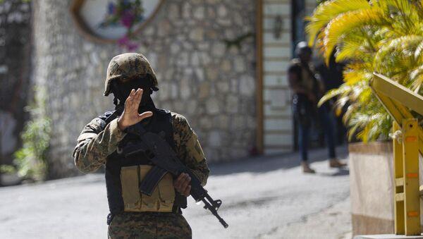 Солдат в Гаити - Sputnik Армения